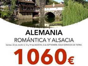ALEMANIA ROMANTICA Y ALSACIA